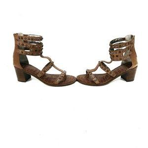 fd0ecfb6de91a0 Sam Edelman Shoes - Sam Edelman Dion Studded Leather Gladiator Sandals